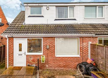Thumbnail 1 bed semi-detached house for sale in Costain Grove, Stockton-On-Tees
