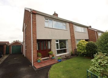 Thumbnail 3 bed semi-detached house for sale in Whitla Crescent, Lisburn