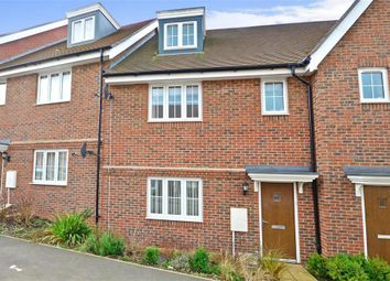 Thumbnail 3 bed terraced house for sale in Taylor Close, Tonbridge, Kent