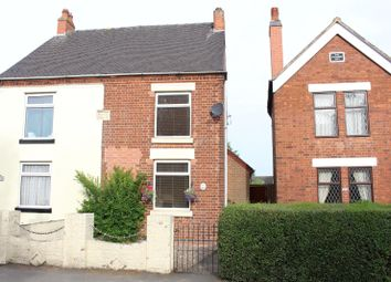 Thumbnail 2 bed semi-detached house for sale in Measham, Derbyshire