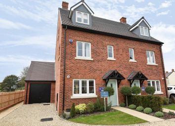Thumbnail 4 bed semi-detached house to rent in Heyford Park, Camp Road, Upper Heyford, Bicester