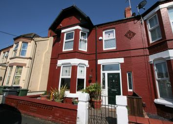 Thumbnail 5 bed terraced house for sale in Hawarden Avenue, Wallasey