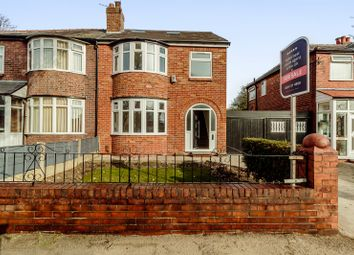 Thumbnail 5 bed semi-detached house for sale in Warwick Road South, Manchester