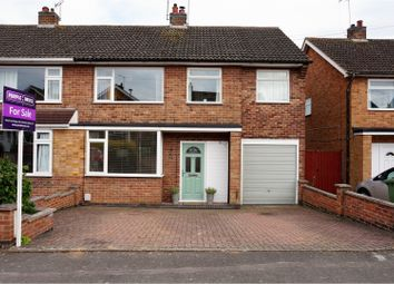 Thumbnail 4 bedroom semi-detached house for sale in Hillberry Close, Leicester