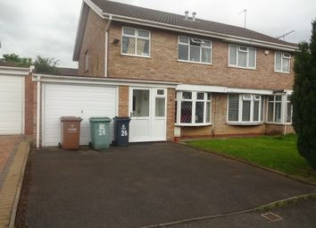 Thumbnail 3 bed property to rent in Aberford Close, Willenhall