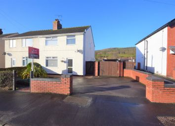 Thumbnail 3 bed semi-detached house for sale in Hawarden Road, Caergwrle, Wrexham