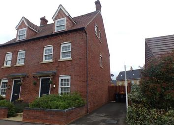 Thumbnail 3 bed semi-detached house for sale in Wilkinson Road, Kempston, Bedford, Bedfordshire