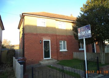 Thumbnail 3 bed semi-detached house to rent in Sackville Road, Eastbourne