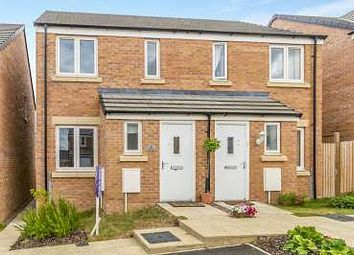 Thumbnail 2 bed semi-detached house to rent in Yates Close, Weldon, Corby
