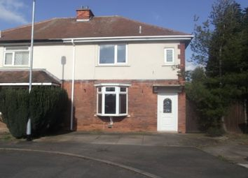 Thumbnail 3 bed semi-detached house to rent in Steere Avenue, Tamworth