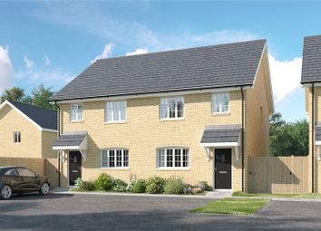 Thumbnail 3 bed semi-detached house for sale in Lesley Way, Brampton, Huntingdon