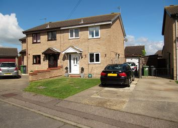 Thumbnail 3 bed semi-detached house for sale in Blackbird Close, Bradwell, Great Yarmouth