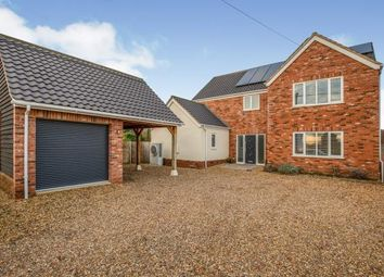Thumbnail 4 bed detached house for sale in Ashwellthorpe, Norfolk