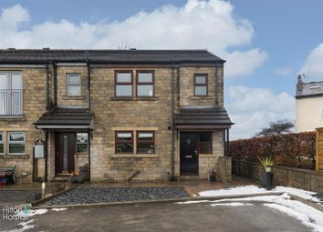 Thumbnail 3 bed semi-detached house for sale in Emmott Court, Laneshawbridge, Colne
