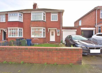 Thumbnail 3 bed semi-detached house for sale in Stanley Grove, High Heaton, Newcastle Upon Tyne