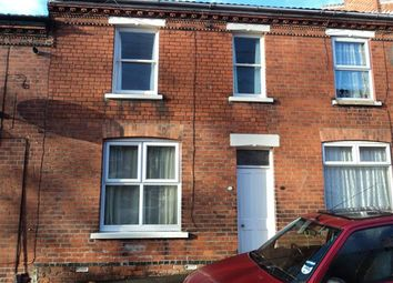 Thumbnail 3 bed terraced house to rent in Walmer Street, Lincoln