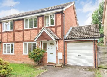 Thumbnail 3 bed semi-detached house for sale in St. Barnabas Gardens, West Molesey