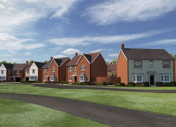 """Thumbnail 2 bedroom terraced house for sale in """"The Elm """" at The Ridge, Blunsdon, Swindon"""