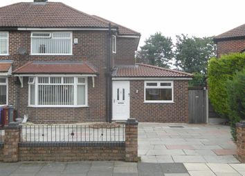 Thumbnail 3 bed semi-detached house for sale in Norleigh Road, Northenden, Northenden