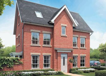 "Thumbnail 4 bedroom detached house for sale in ""Hexham"" at Rykneld Road, Littleover, Derby"