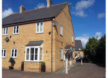 Thumbnail 1 bed town house for sale in Admiral Court, Spalding