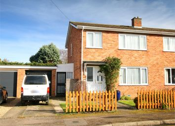 Thumbnail 3 bed semi-detached house for sale in St. Anselm Place, St. Neots