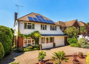 Thumbnail 4 bed detached house for sale in Nonsuch Walk, Cheam, Sutton