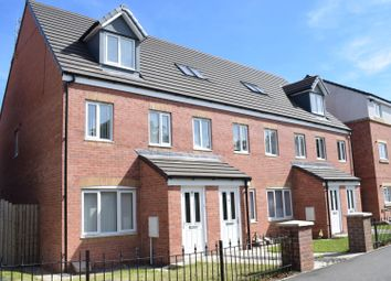 Thumbnail 3 bed town house for sale in Wingate Way, Ashington