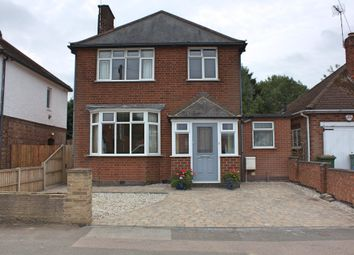 Thumbnail 3 bed detached house for sale in Grange Drive, Glen Parva, Leicester