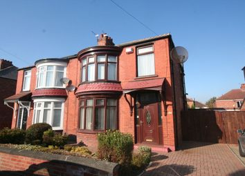 Thumbnail 3 bed semi-detached house for sale in Highbury Avenue, Tollesby, Middlesbrough