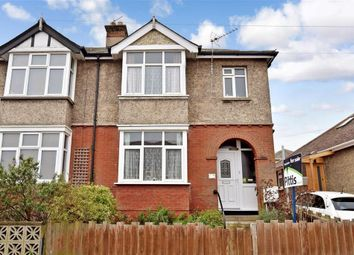 Thumbnail 3 bed semi-detached house for sale in Consort Road, Cowes, Isle Of Wight