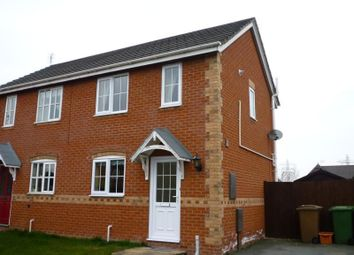Thumbnail 2 bedroom semi-detached house to rent in Epsom Close, Oswestry