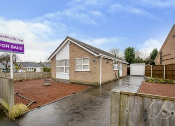 Thumbnail 2 bed detached bungalow for sale in Windsor Gardens, Mansfield