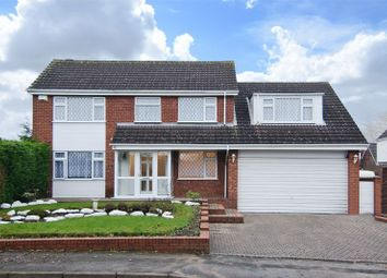 Thumbnail 4 bed detached house for sale in Elder Lane, Chase Terrace, Burntwood
