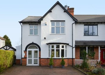 Thumbnail 3 bedroom semi-detached house for sale in Rednal Road, Kings Norton, Birmingham