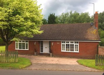 Thumbnail 3 bed bungalow for sale in Turnpike, The Holborn, Madeley, Crewe