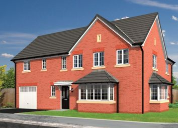 Thumbnail 4 bed detached house for sale in Lawton Green, Lawton Road, Alsager, Stoke-On-Trent