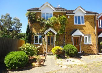Thumbnail 2 bed terraced house to rent in Fennscombe Court, West End, Woking