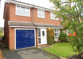 Thumbnail 4 bed detached house for sale in Bleasdale Road, Coppenhall, Crewe, Cheshire