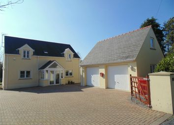 Thumbnail 4 bed detached house for sale in Lawr-Y-Lon, Castle Pill Road, Steynton, Milford Haven, Pembrokeshire