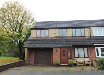Thumbnail 4 bed semi-detached house for sale in Timsbury Close, Bolton