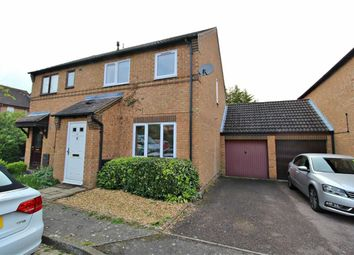 Thumbnail 3 bed semi-detached house to rent in Rillington Gardens, Emerson Vallley, Milton Keynes