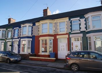 Thumbnail 3 bed terraced house to rent in Fairburn Road, Tuebrook, Liverpool