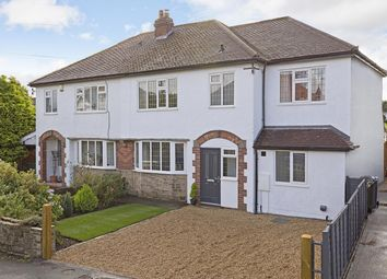 Thumbnail 4 bed semi-detached house for sale in Holme Grove, Burley In Wharfedale