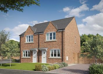 """Thumbnail 2 bed semi-detached house for sale in """"The Broomhall"""" at Walkers Lane, Whittington, Worcester"""
