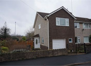 Thumbnail 4 bed semi-detached house for sale in Bassaleg, Newport