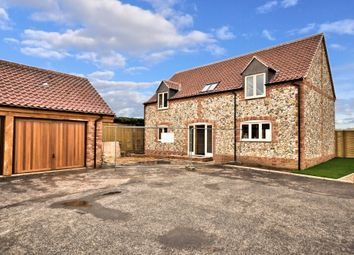 Thumbnail 3 bedroom detached house for sale in Station Road, Docking, King's Lynn