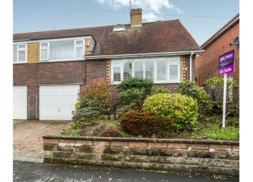 Thumbnail 3 bed semi-detached house for sale in Bridgwood Road, Stoke-On-Trent