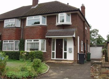 Thumbnail 4 bed semi-detached house to rent in Pennylets Green, Stoke Poges