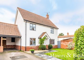 Thumbnail 3 bed link-detached house for sale in Reeves Close, Bawdeswell, Dereham